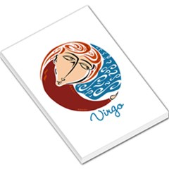 Virgo Star Sign Large Memo Pads