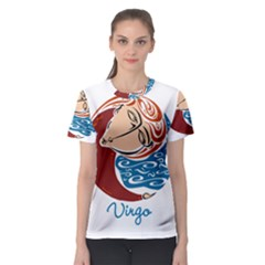 Virgo Star Sign Women s Sport Mesh Tees