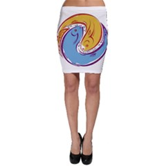 Two Fish Bodycon Skirts