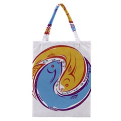 Two Fish Classic Tote Bags