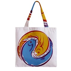 Two Fish Zipper Grocery Tote Bags