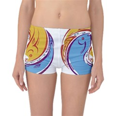 Two Fish Boyleg Bikini Bottoms
