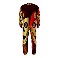 Funny, happy skull OnePiece Jumpsuit (Kids)