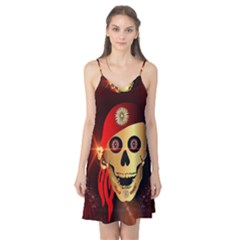 Funny, happy skull Camis Nightgown
