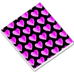 Heart Pattern Pink Small Memo Pads