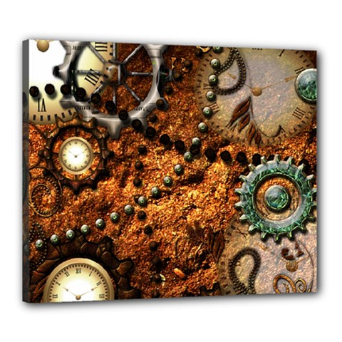 Steampunk In Noble Design Canvas 24  x 20