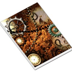 Steampunk In Noble Design Large Memo Pads