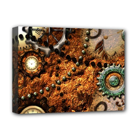 Steampunk In Noble Design Deluxe Canvas 16  x 12