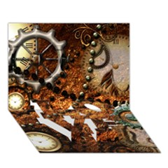 Steampunk In Noble Design LOVE Bottom 3D Greeting Card (7x5)
