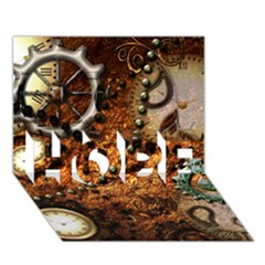 Steampunk In Noble Design Hope 3d Greeting Card (7x5)
