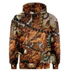Steampunk In Noble Design Men s Pullover Hoodies