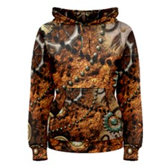 Steampunk In Noble Design Women s Pullover Hoodies