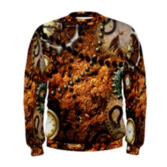 Steampunk In Noble Design Men s Sweatshirts