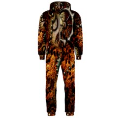 Steampunk In Noble Design Hooded Jumpsuit (men)