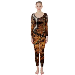 Steampunk In Noble Design Long Sleeve Catsuit