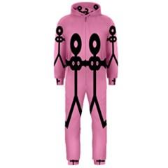 Love Women Icon Hooded Jumpsuit (Men)