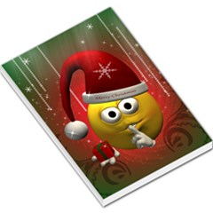 Funny Christmas Smiley Large Memo Pads