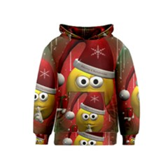 Funny Christmas Smiley Kid s Pullover Hoodies