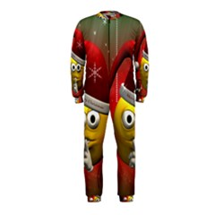 Funny Christmas Smiley OnePiece Jumpsuit (Kids)