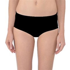 Rectangles and stripes pattern Mid-Waist Bikini Bottoms
