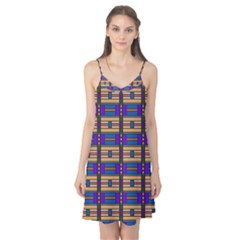 Rectangles and stripes pattern Camis Nightgown