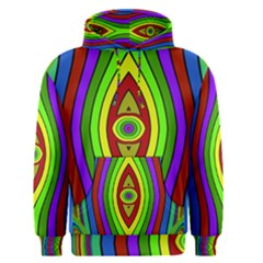 Colorful symmetric shapes Men s Pullover Hoodie