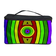 Colorful symmetric shapes Cosmetic Storage Case