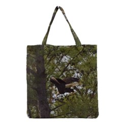 Bald Eagle Grocery Tote Bags