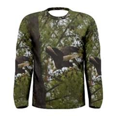 Bald Eagle Men s Long Sleeve T Shirts