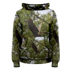 Bald Eagle 2 Women s Pullover Hoodies