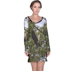 Bald Eagle 2 Long Sleeve Nightdresses