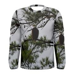 Bald Eagle 3 Men s Long Sleeve T Shirts