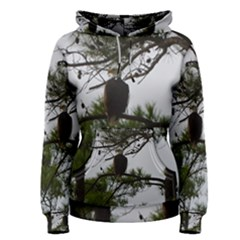 Bald Eagle 3 Women s Pullover Hoodies