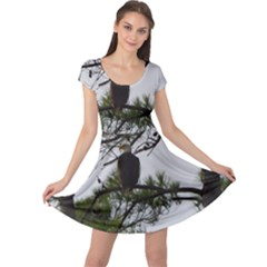 Bald Eagle 3 Cap Sleeve Dresses