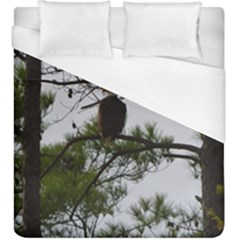 Bald Eagle 3 Duvet Cover Single Side (kingsize)