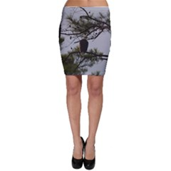 Bald Eagle 4 Bodycon Skirts