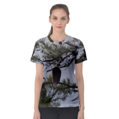 Bald Eagle 4 Women s Sport Mesh Tees