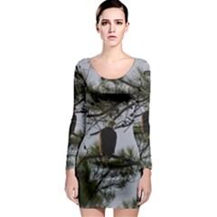 Bald Eagle 4 Long Sleeve Bodycon Dresses