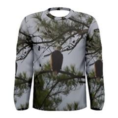 Bald Eagle 4 Men s Long Sleeve T Shirts