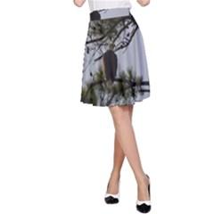 Bald Eagle 4 A-Line Skirts
