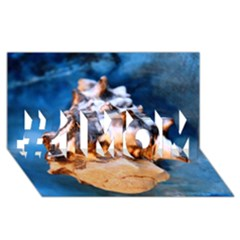 Sea Shell Spiral #1 MOM 3D Greeting Cards (8x4)