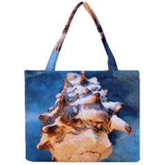 Sea Shell Spiral Tiny Tote Bags