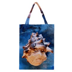 Sea Shell Spiral Classic Tote Bags