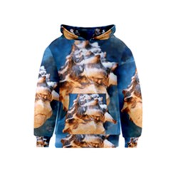 Sea Shell Spiral Kid s Pullover Hoodies