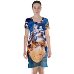 Sea Shell Spiral Short Sleeve Nightdresses