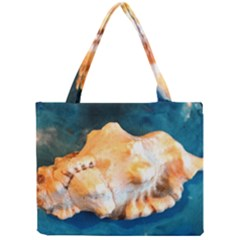 Sea Shell Spiral 2 Tiny Tote Bags