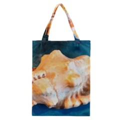 Sea Shell Spiral 2 Classic Tote Bags