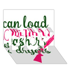 I Can Load More Than Washers And Dryers BOY 3D Greeting Card (7x5)