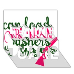 I Can Load More Than Washers And Dryers TAKE CARE 3D Greeting Card (7x5)