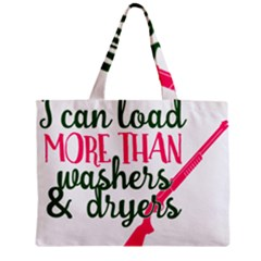I Can Load More Than Washers And Dryers Zipper Tiny Tote Bags